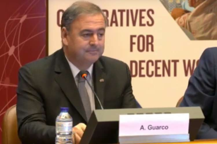 Ariel Guarco, presidente de la ACI.